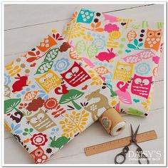 Cotton Linen Fabric Cloth DIY Cloth Art Manual Cloth by JolinTsai, $7.60