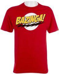 The Big Bang Theory Bazinga! Men s T-Shirt Big Bang Theory Shirts 815c7ce113a