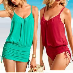Sexy one-piece bathing suit women fashion swimsuit with red blue one piece woman swimsuit swimdresses A01255