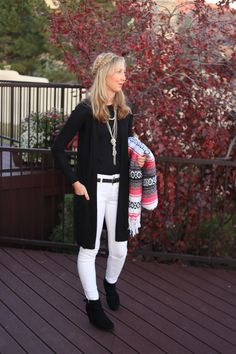 black and white outfits fall winter outfit chic edgy fashion