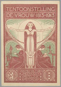 Tentoonstelling De Vrouw 1813-1913