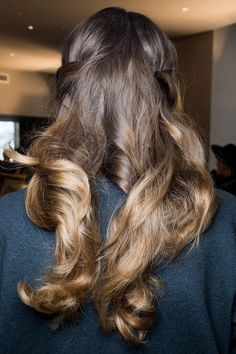 HAIR: Luisa Beccaria Fall 2015 Beauty