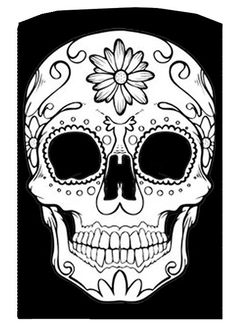 Sugar Skull LaserEngraved Lighter by clengraving on Etsy, $30.00