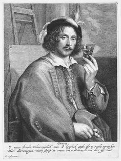 Lucas Vorsterman I (Flemish 1595–1675). Allegory of Taste (Portrait of the Painter Jan Davidsz. de Heem, after a self-portrait), 1615–75. The Metropolitan Museum of Art, New York. The Elisha Whittelsey Collection, The Elisha Whittelsey Fund, 1951, (51.501.1331).