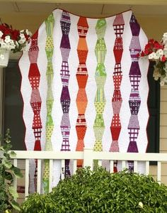 """""""lava lamp"""" quilt from Quilt Taffy"""