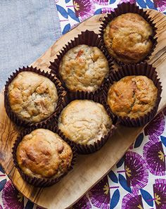 Vegan - Rhubarb and ginger muffins (vegan recipe)