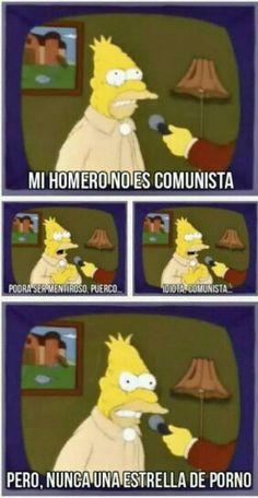Los Simpson ♥ mi Homero no es comunista