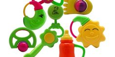 Why do Baby Toys have Vivid Colors? Colored Rattles and Cute Toys | Best Toys For My Kids