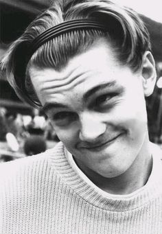 Remember when headbands were in fashion for men? No.?    Yeah, neither do I.  Oh Leo. It's okay. You were great in Catch Me If You Can.