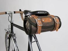Fancy - Waxed Canvas Roll Bag by Acorn Bags