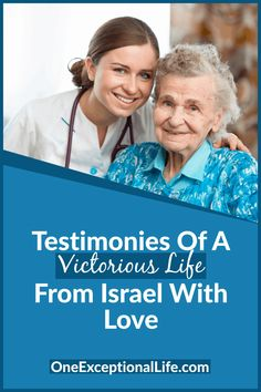 Are you living victoriously with Christ? Do you need some Christian inspiration? You need to meet the amazing residents of the Ebenezer Home in Haifa Israel. It is the only senior citizen's home in Israel where all residents and staff are believers in Yeshua (Jesus Christ). See God working His holy Land and find out how you can help. #Christianlife #Christianwomen #spiritualgrowth #biblicalencouragement #oneexceptionallife #showingkindness #overcomingchallenges