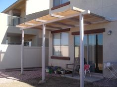 DIY Patio Cover and shade for Mom