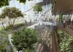 Neues Hochhaus-Trio für Rom: Daniel Libeskinds vertikale Gärten | WIRED Germany