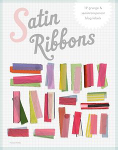 Satin Ribbons - Free Clip Art by Pugly Pixel to pimp your art and blog.