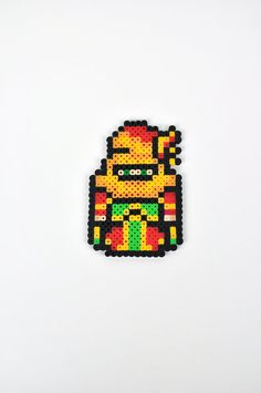 Gogo from Final Fantasy VI Magnet Perler Bead by TheCraftyChimera, $9.99