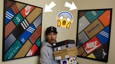 Turn Your Old Shoe Boxes Into Works of Art! SneakerHead How To/Tutorial ...