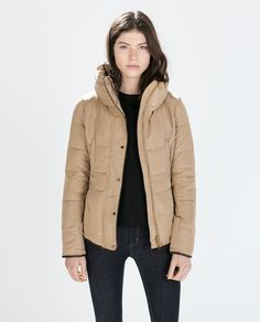 FITTED SHORT ANORAK from Zara - it will be mine ... oh yesssss ...