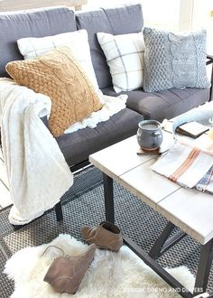 Fall Home Tour on Design, Dining and Diapers