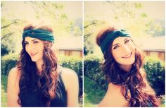7 Ways to Wear a Headband - Can I just say, love this style! It's cute and funky and different.  I know, I've seen it more and more, but it's just fun to do something you wouldn't usually do.  Try it! Read more at http://manouvellemode.com/2012/08/10/7-ways-to-wear-a-headband/#Vwio1qtwFrpMyogX.99