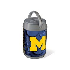 @Overstock - Picnic Time University of Michigan Wolverines Mini Can Cooler - The Mini Can Cooler by Picnic Time is a hard-sided cooler and large beverage can replica that doubles as a lunch box that shows your school spirit. This cooler holds six 12-ounce cans and has a 5-quart capacity.   http://www.overstock.com/Home-Garden/Picnic-Time-University-of-Michigan-Wolverines-Mini-Can-Cooler/8397586/product.html?CID=214117 $34.99