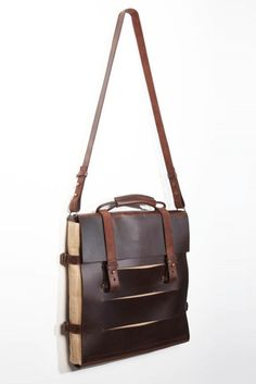 be97e616645573 brown bag Leather Satchel