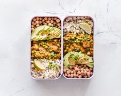 Learn how to meal prep for weight loss, tips for improving the nutrition of your meals, correct portioning and how meal planning like a pro! Ways To Eat Healthy, Healthy Dinner Recipes, Diet Recipes, Tasty Meals, Broccoli Recipes, Avocado Recipes, Delicious Recipes, Diet Snacks, Healthy Snacks