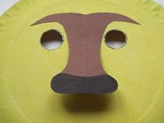 make a paper plate lion nose Lion King Crafts, Lion Craft, Paper Plate Masks, Paper Plates, Hobbies And Crafts, Diy And Crafts, Lion Mask, Pokemon, Islamic Studies