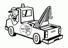 192 best tow truck driver images in 2019 tow truck driver New Mack Truck Gallery tow truck coloring pages inspirational truckdome tow truck by clipart library truck art coloring page