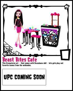 Playset-Monster High Doll Checklist