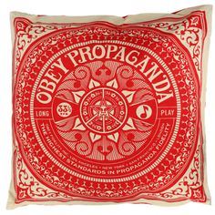 Sayy wha!? Obey PILLOWS? I need this in my life.