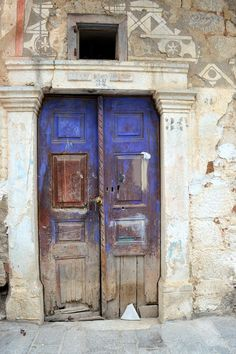 The old door from 1910, Pyrgi Photo by feray umut — National Geographic Your Shot