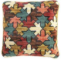Kits Cojines Cañamazo Grueso Cross Stitch Cushion, Dmc Cross Stitch, Cross Stitch Love, Cross Stitching, Cross Stitch Patterns, Blackwork Embroidery, Cross Stitch Embroidery, Embroidery Patterns, Bargello Patterns
