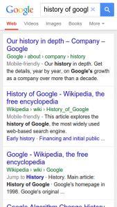 Daha önce Google ın mobil aramalar konusunda Nisan ayı içerisinde güncelleme yapacağını ve mobil uyumlu olmayan siteler için de bu güncellemenin dezavantaj oluşturacağını Google'ın gözünde mobil ticaret'in önemi başlıklı yazımızda kaleme almıştık. Mobil aramalarla ilgili olarak yapılması planlanan güncellemeden önce dün Google mobil aramalarda link güncellemesi yaptı. Breadcrumb a uygun olarak düzenlenen linkler artık daha anlaşılır ve daha okunaklı bir hale getirildi.