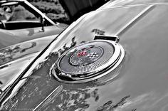 Corvette logo detail