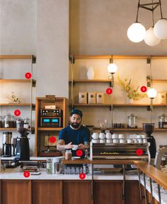 No more oversize couches or eclectic mugs—today's coffee bars take their vibe seriously. These are the 9 trends that define coffee shop design in 2014