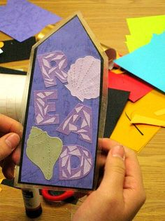Create bookmarks as parting gifts for your book club
