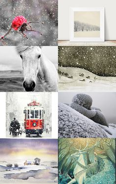 Let It Snow! by Sarah on Etsy--Pinned with TreasuryPin.com