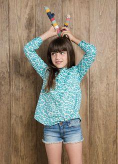 NEW - Medium denim shorts #FW14 #KIDS #GIRLS