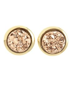 Druzy Stud Earrings @calypsostbarth #seasonofsparkle