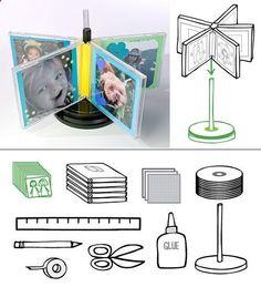 DIY Ideas from Recycled CDs | Design & DIY Magazine
