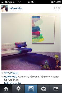 Katharina grosse via Cafe Mode