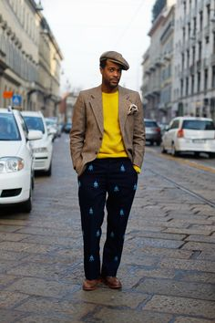 ALL THE PRETTY BIRDS: Karl-Edwin Guerre, Personal Style at Its Best