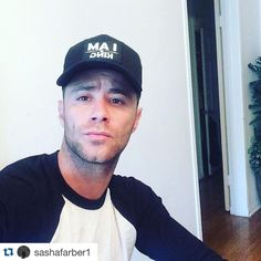 """Dancing With The Stars Sasha Farber rocking Gratitude Couture's """"I AM King"""" snapback in support of our brand and anti-bullying message"""