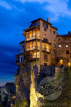 Hanging houses of Cuenca, Spain