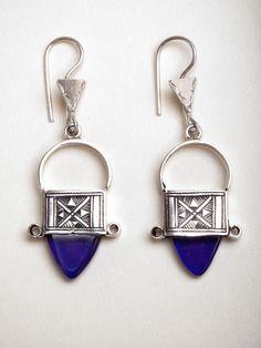 Deep Blue Ingal Earrings