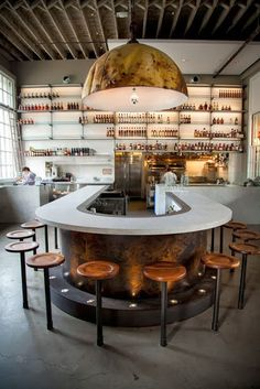 How To Create A Stylish & Unforgettable Bar Design | bar design, bar decor, modern interior design #bardesign #bardecor #design Get more inspiration: https://www.brabbu.com/en/inspiration-and-ideas/interior-design/create-stylish-unforgettable-bar-design
