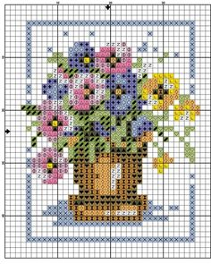 1 million+ Stunning Free Images to Use Anywhere 123 Cross Stitch, Cross Stitch Cards, Cross Stitch Flowers, Cross Stitch Designs, Cross Stitching, Cross Stitch Embroidery, Embroidery Patterns, Cross Stitch Patterns, Broderie Simple