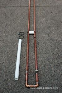 2 Meter Slim Jim Antenna | KB9VBR J-Pole Antennas Police Radio, Dipole Antenna, Ham Radio Antenna, Slim, Engineering, Tv, Awesome, Style, Projects