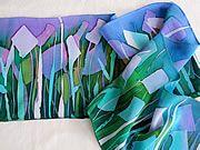 isabella whitworth--silk painting