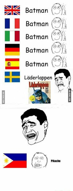 Was watching läderlappen vs stålmannen the other day, great movie. perfect 5/7, what happened to Pikachu in the end really shocked me.